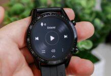 Музыка на часах Huawei