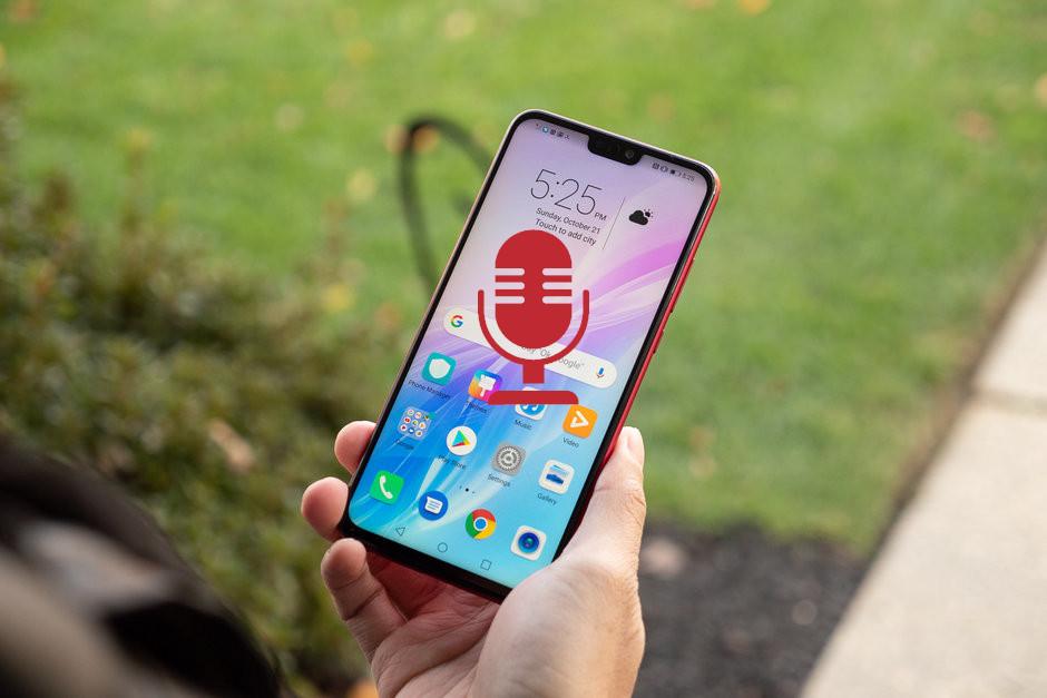 Как записать разговор на Huawei